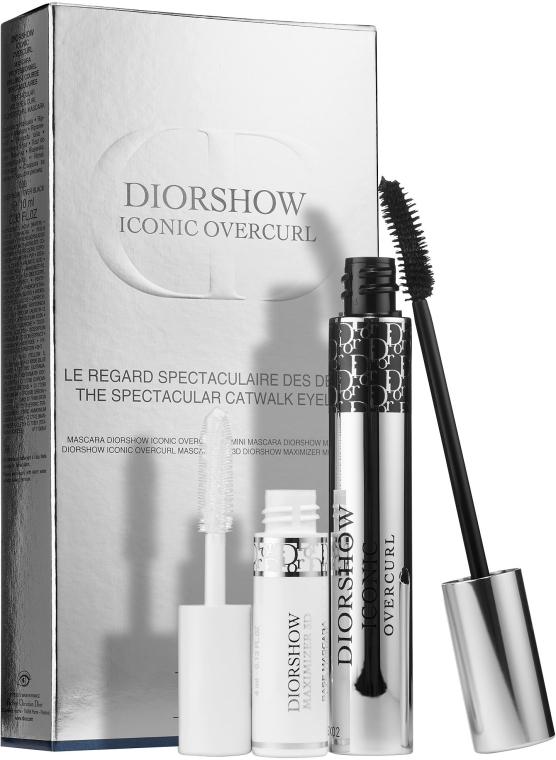 Zestaw - Dior Diorshow Iconic Overcurl (mascara/10ml + serum/4ml) — фото N1