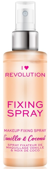 Spray-utrwalacz makijażu - I Heart Revolution Fixing Spray Vanilla & Coconut — фото N1