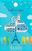 Kup Naklejki na paznokcie - Snails Nail Wraps