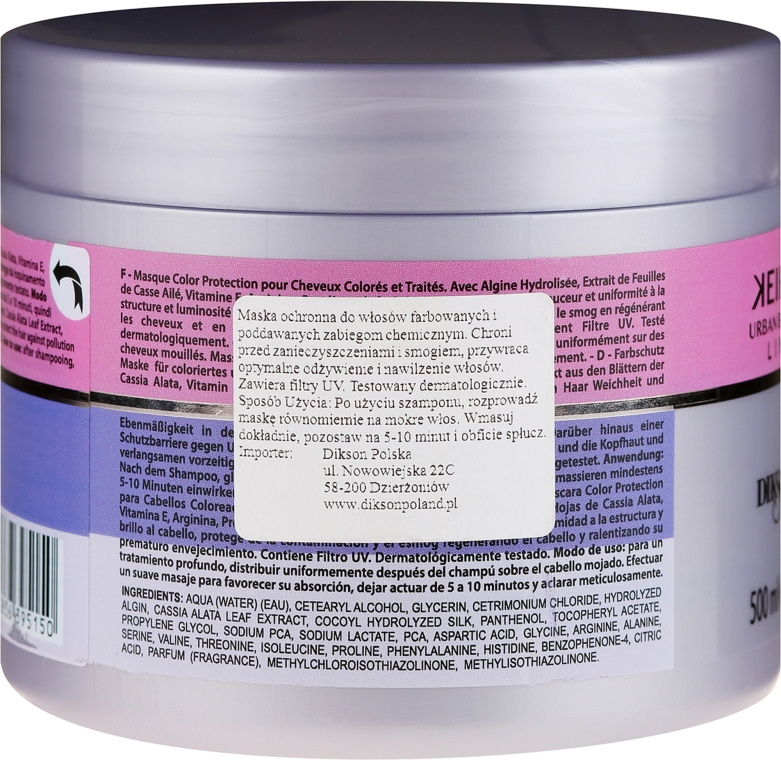 Maska do włosów Ochrona koloru - Dikson Kerais Color Protections Mask — фото N2