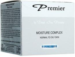Kup Nawilżający krem-kompleks do skóry normalnej i tłustej - Premier Dead Sea Moisture Cream Complex Normal to Oily Skin