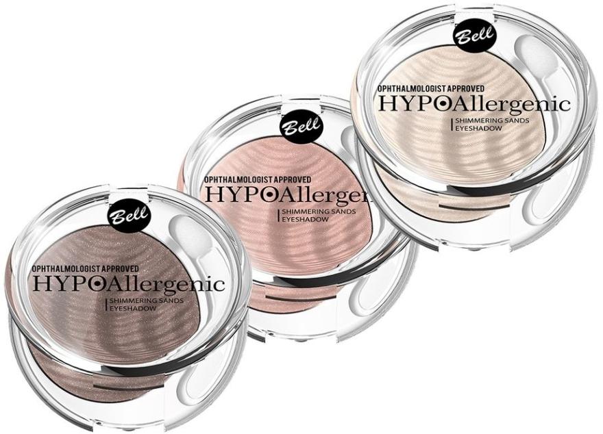 Hipoalergiczny aksamitny cień do powiek - Bell HYPOAllergenic Shimmering Sands Eyeshadow