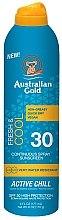 Kup Chłodzący spray do ciała z filtrem przeciwsłonecznym SPF 30 - Australian Gold Freash & Cool Continuous Spray Sunscreen