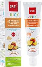Kup Pasta do zębów dla dzieci Brzoskwinia - SPLAT Juicy Toothpaste