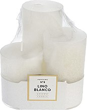 Kup Zestaw świec zapachowych - Artman Classic Perfume N°8 Lino Blanco