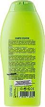 Naturalny szampon wzmacniający do włosów Geranium - Hristina Cosmetics Healthy Hair & Stronger With Geranium Shampoo — фото N2