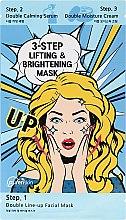 Kup 3-etapowa maska liftingująco-rozjaśniająca - Purenskin 3-Step Lifting & Brightening Mask