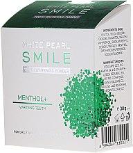 Kup Wybielający proszek do zębów z mentolem - VitalCare White Pearl Smile Tooth Whitening Powder Menthol+