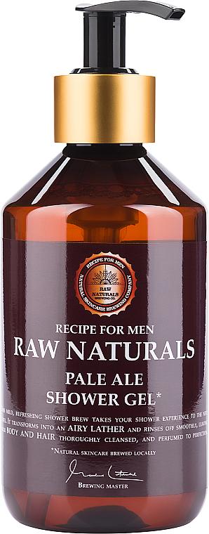 Żel pod prysznic dla mężczyzn - Recipe For Men RAW Naturals Pale Ale Shower Gel — фото N1
