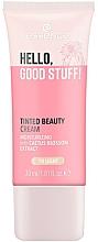 Kup Nawilżający krem koloryzujący do twarzy z ekstraktem z kaktusa - Essence Hello Good Stuff! Tinted Beauty Cream