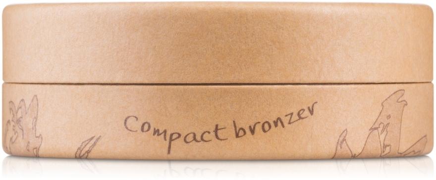 Puder brązujący - Couleur Caramel Compact Bronzer — фото N2