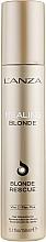 Kup Rekonstruujący krem do włosów rozjaśnianych - Lanza Healing Blonde Rescue