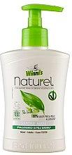 Kup Mydło w płynie do rąk z ekstraktami z zielonej herbaty, brzozy i aloesu - Winni's Naturel Liquid Hand Soap Mani The Verde