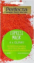 Kup Glinkowa maska oczyszczająca Redukcja porów i nawilżenie - Perfecta Express Mask