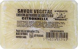 Kup Marsylskie mydło w kostce Trawa cytrynowa - Foufour Savonnette Marseillaise Citronnelle