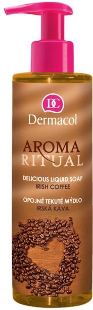 Mydło w płynie Kawa po irlandzku - Dermacol Aroma Ritual Liquid Soap Irish Coffee