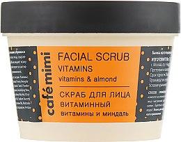 Kup Witaminowy peeling do twarzy - Café Mimi Facial Scrub Vitamins