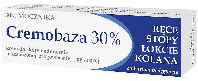 Krem z mocznikiem do skóry nadmiernie przesuszonej, zrogowaciałej i pękającej - Farmapol Cremobaza 30%