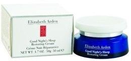 Odbudowujący krem do twarzy na noc - Elizabeth Arden Good Night`s Sleep Restoring Cream — фото N3