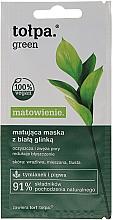 Kup Matująca maska z białą glinką - Tołpa Green Matowienie
