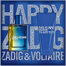 Kup Zadig & Voltaire This is Love! for Him - Zestaw (edt 50 ml + sh/gel 50 ml)