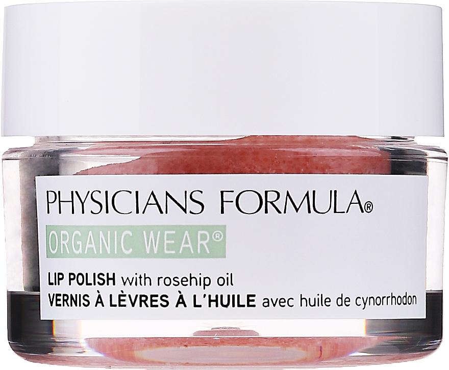Peeling do ust z organicznym olejem różanym - Physicians Formula Organic Rose Oil Lip Polish — фото N1