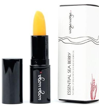 Naturalny balsam do ust z olejem z rokitnika - Uoga Uoga Natural Lip Balm With Sea-Buckthorn Oil — фото N1