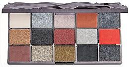 Kup Paleta cieni do powiek - Makeup Revolution Glass Black Ice Eyeshadow Palette