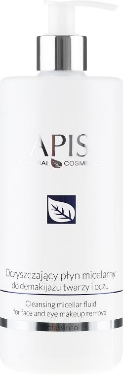 Oczyszczający płyn micelarny do demakijażu twarzy i oczu - APIS Professional Home TerApis Cleansing Micellar
