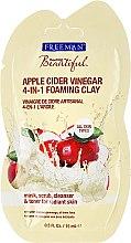 Kup Oczyszczająca maska glinkowa + peeling z octem jabłkowym do twarzy - Freeman Feeling Beautiful Cleansing Apple Cider Vinegar Clay Mask + Scrub (miniprodukt)