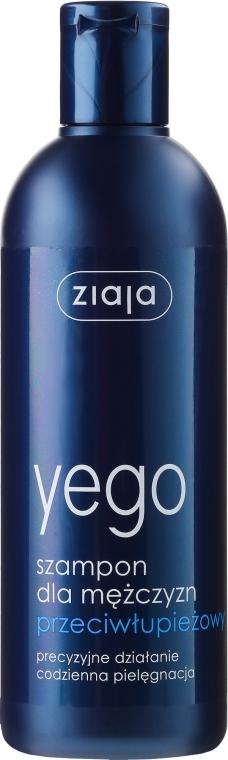 Przeciwłupieżowy szampon do włosów dla mężczyzn - Ziaja Yego