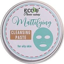 Kup Matująca oczyszczająca pasta do twarzy do cery tłustej - ECO U