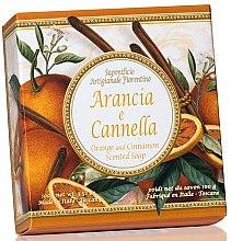 Kup Naturalne mydło w kostce Pomarańcza i cynamon - Saponificio Artigianale Fiorentino Orange & Cinnamon
