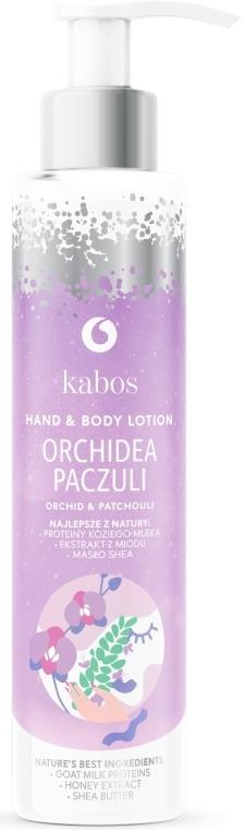Balsam do rąk i ciała Orchidea i paczula - Kabos Orchid & Patchouli Hand & Body Lotion — фото N1