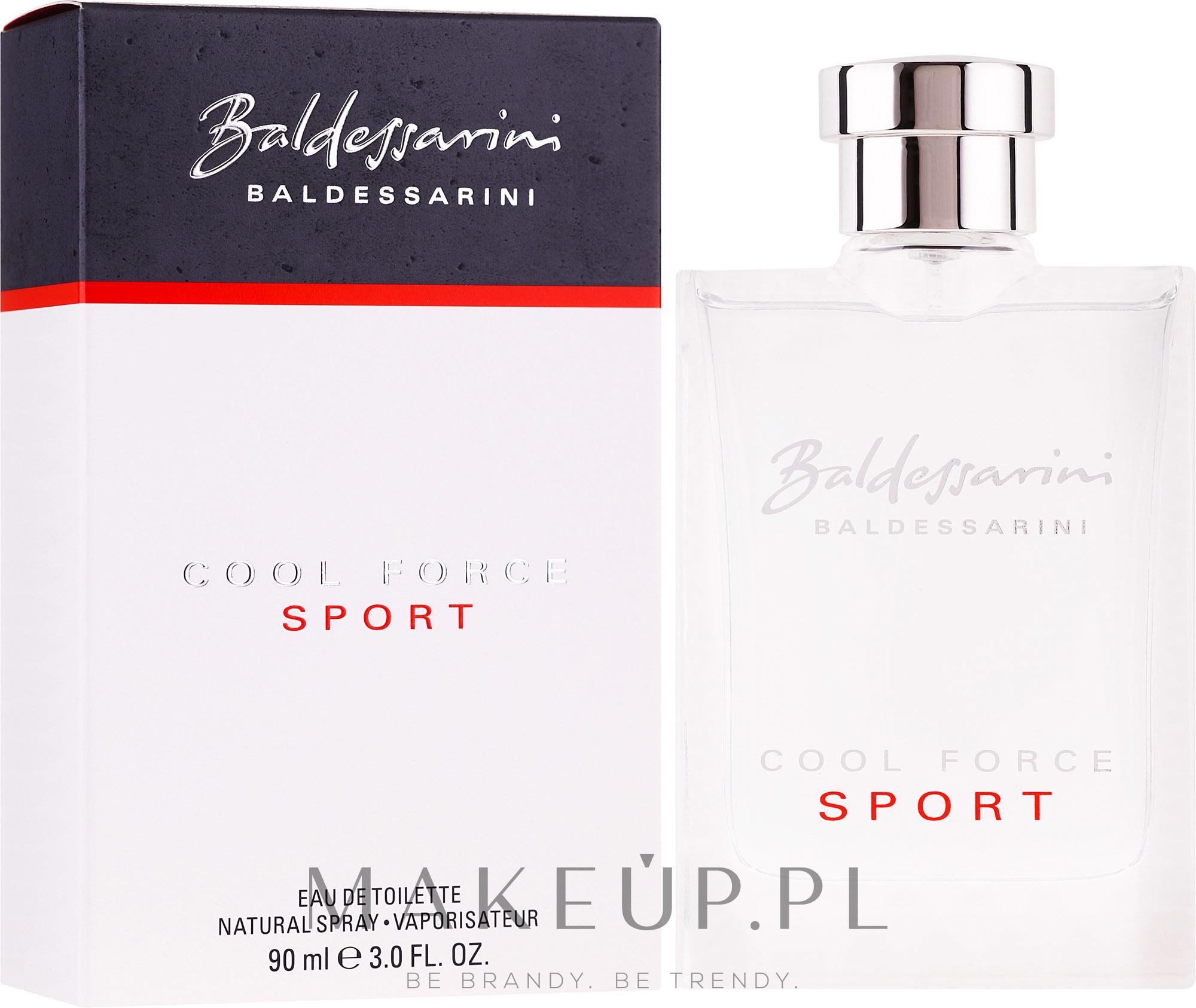 PRZECENA! Baldessarini Cool Force Sport - Woda toaletowa * — фото 90 ml