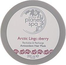 Kup Antyoksydacyjna maska do włosów z ekstraktem z czerwonej borówki - Avon Planet Spa Arctic Lingonberry Antioxidant Hair Mask