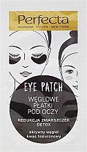 Kup Węglowe płatki pod oczy redukujące zmarszczki - Dax Cosmetics Perfecta Eye Patch