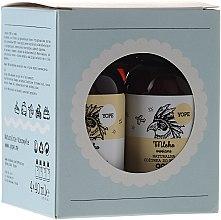 Kup Zestaw miniaturek na podróż - Yope (h/balm 40 ml + sh/gel 40 ml + shm 40 ml + cond 40 ml)