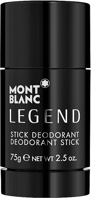 Montblanc Legend Stick - Perfumowany dezodorant w sztyfcie