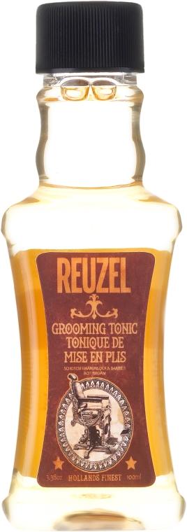 Tonik dla mężczyzn do stylizacji i utrwalania włosów - Reuzel Grooming Tonic — фото N1