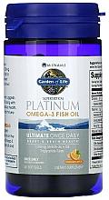 Kup Kwas Omega-3 i witamina D3 w kapsułkach o smaku pomarańczowym - Garden of Life Minami Platinum