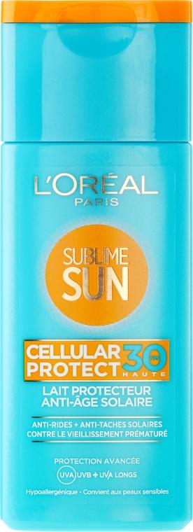 Mleczko przeciwsłoneczne - L'Oreal Paris Sublime Sun Cellular Protect SPF30 Sun Lotion — фото N1