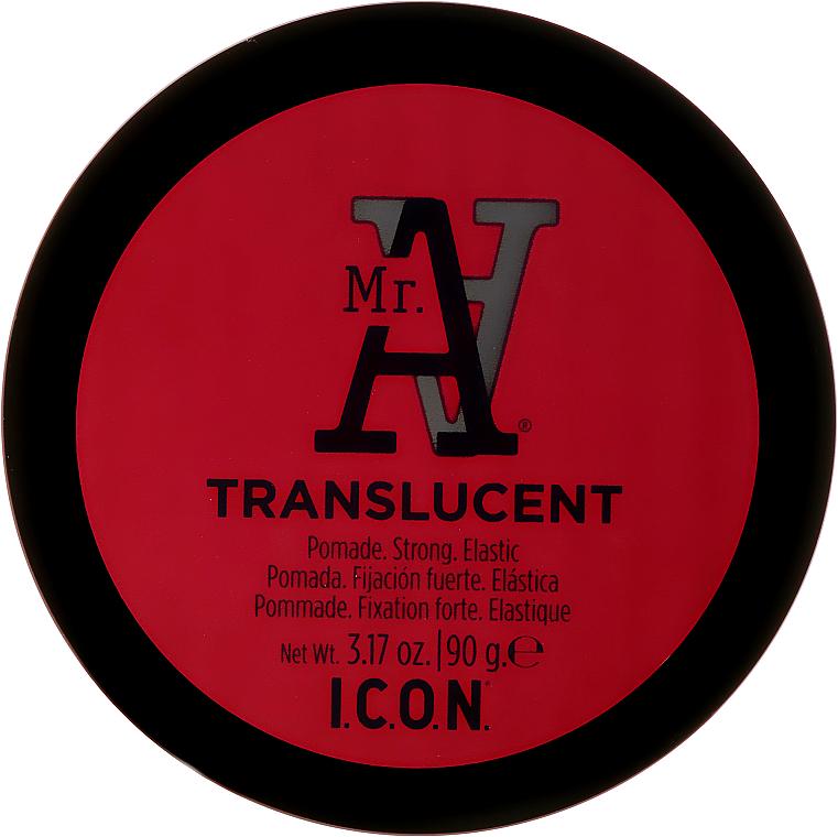 PRZECENA! Mocna pomada elastyczna do stylizacji włosów - I.C.O.N. MR. A. Transclucent Pomade Strong Elastic * — фото N2