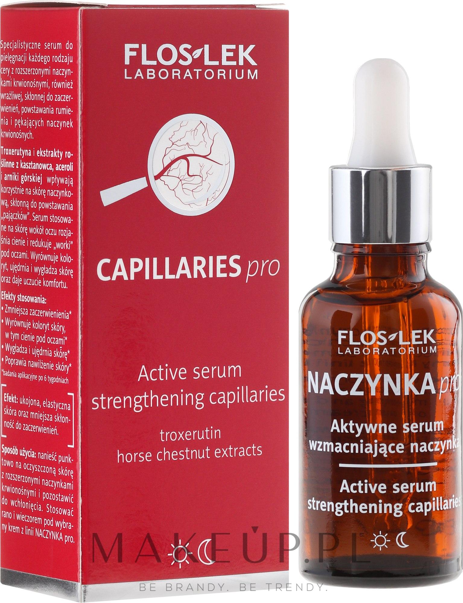 Aktywne serum wzmacniające naczynka - Floslek Naczynka Pro — фото 30 ml