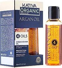 Kup Odżywczy olejek z olejem arganowym do włosów - Kativa Argan Oil