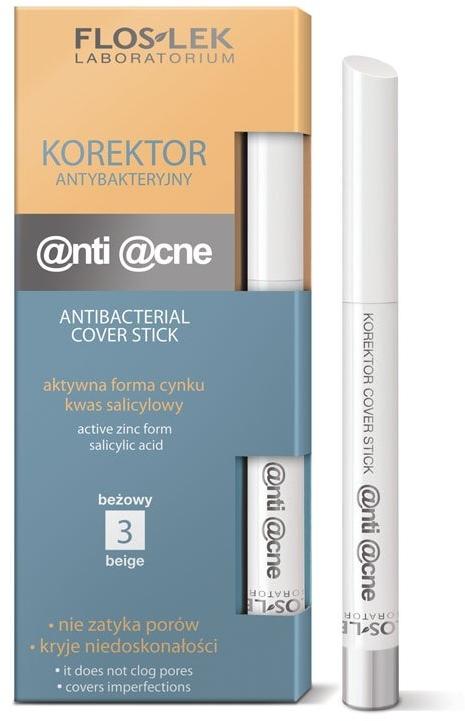 Antybakteryjny korektor do twarzy - FlosLek Anti Acne Program Corrector