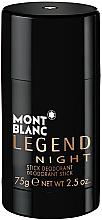 Kup Montblanc Legend Night Stick - Perfumowany dezodorant w sztyfcie dla mężczyzn