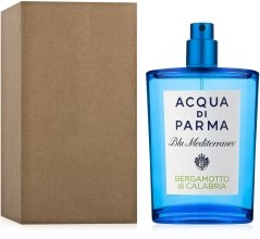 Kup Acqua di Parma Blu Mediterraneo Bergamotto di Calabria - Woda toaletowa (tester bez nakrętki)