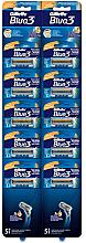 Kup Zestaw jednorazowych maszynek do golenia, 10 sztuk - Gillette Blue 3