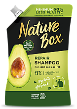 Kup Regenerujący szampon do włosów z olejem awokado - Zapas szamponu do włosów w olejkiem awokado